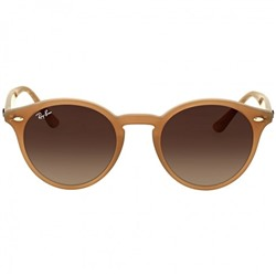 RAY BAN Round Brown Gradient Sunglasses