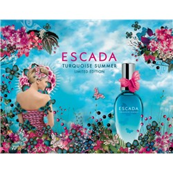 ESCADA TURQUISE SUMMER edt (w) 100ml TESTER