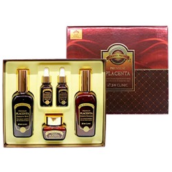 Подарочный набор 3W Clinic Premium Placenta 5 Items Set  (145ml+145ml+50ml+15ml+15ml)