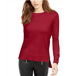 MICHAEL Michael Kors Tie-Sleeve Sweater, Regular & Petite Sizes, Created for Macy's