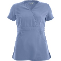 Advantage STRETCH by Butter-Soft™ Mock Wrap Scrub Top