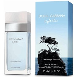 DOLCE & GABBANA LIGHT BLUE DREAMING IN PORTOFINO edt (w) 50ml