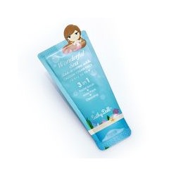 Очищающее средство для жирной кожи лица 3 в 1 Wonderful Sea Cathy Doll 6 гр / Cathy Doll Oil Control Calcium Cream Pack 3in1 Wonderful Sea 6 gr