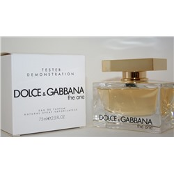 DOLCE & GABBANA THE ONE edp (w) 75ml TESTER