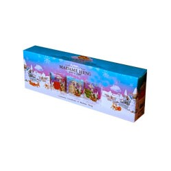 Подарочный новогодний набор мыла MADAME HENG NATURAL BALANCE 3 шт по 110 грамм/MADAME HENG NATURAL BALANCE SOAP CHRISTMAS GIFT SET 3PSC 110GR