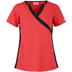 Butter-Soft Scrubs by UA™ Inset V-Neck Scrub Top