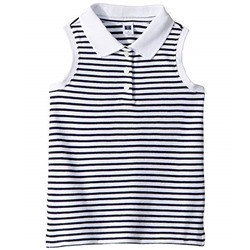 Janie and Jack Sleeveless Polo Top (Toddler/Little Kids/Big Kids)