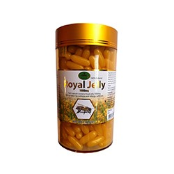 Пчелиное маточное молочко King 365 капсул / King  Royal Jelly 1000mg 365 caps