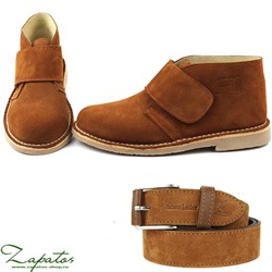 Дезерты Ab.Zapatos 3316 New R • Brandy + Ab.Zapatos Pelle cinturon (140) Brandy