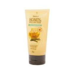 Желе-скраб для лица с медом и корой ивы 150 мл / Daiso Honey& Willow Bark Jelly Facial Scrub Anti-Acne 150 ml