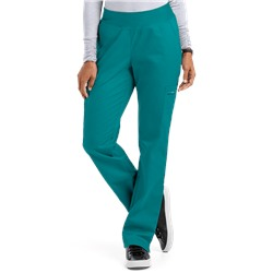 UA Butter-Soft STRETCH Scrubs Women's Yoga Pants with Knit Waistband