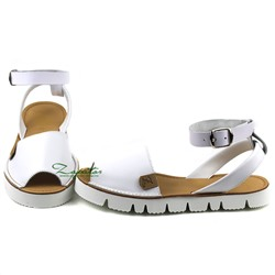 AB.ZAPATOS correas 3202 TG blanco