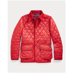 BOYS 8-20 The Iconic Quilted Car Coat