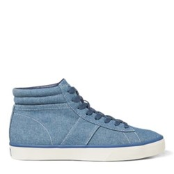 POLO RALPH LAUREN Shaw Chambray High-Top Sneaker
