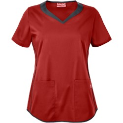 UA Butter-Soft STRETCH Scrubs 3 Pocket Sweetheart Top