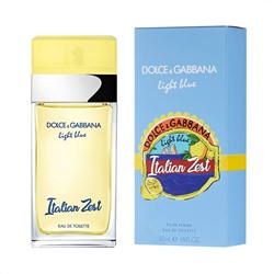 DOLCE & GABBANA LIGHT BLUE ITALIAN ZEST edt (w) 100ml