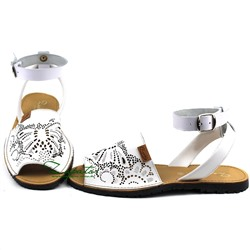 AB. ZAPATOS correas· 316TG-blanco ·