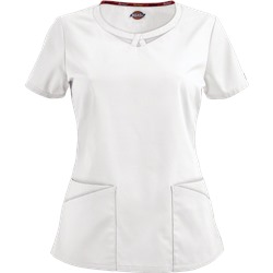 Dickies EDS Signature Scrubs Peek-A-Boo Contemporary Fit Top