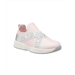 DKNY Little Girls Slip On Sneaker