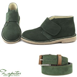 Дезерты Ab.Zapatos 3316 New R • Bosco + Ab.Zapatos Pelle cinturon (140) Bosco