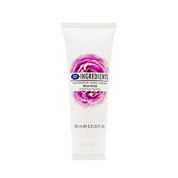 Крем для рук «Дикая роза» от Boots 100 мл / Boots Ingredients Hand & Nail Cream Wild Rose Waterdrop 100 ml