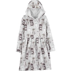 Carter's | Kid Hooded Cat French Terry Dress
