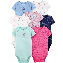 Carter's | Baby 7-Pack Hearts Original Bodysuits