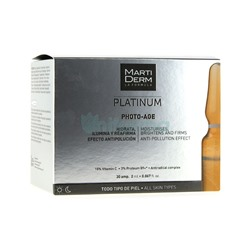 Martiderm Photo Age Platinum 30 ampollas