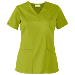 UA Butter-Soft STRETCH Scrubs V-Neck 5 Pocket Top