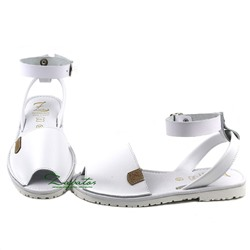 AB. ZAPATOS correas 320-8TG PC · blanco