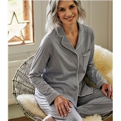 WoolOvers, Organic Cotton PJ Top