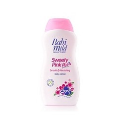 Детский увлажняющий лосьон Babi Mild Sweety Pink Plus 200 ml/ Babi Mild Sweety Pink Plus Lotion 200 ml