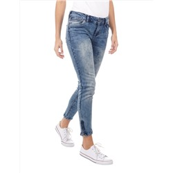 Damen Moon Washed Skinny Fit Jeans