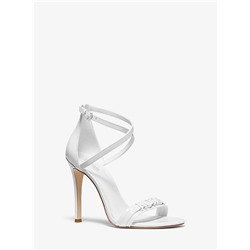 Goldie Patent Leather Sandal