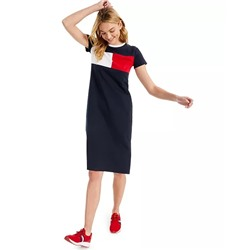 Tommy Hilfiger Logo Midi T-Shirt Dress