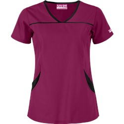 Butter-Soft Scrubs by UA™ 4 Pocket Princess Seam Top