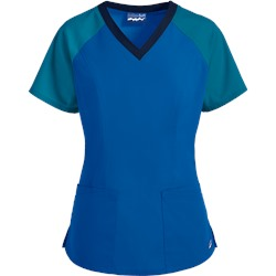 Butter-Soft Scrubs by UA™ Raglan Sleeve Four Pocket Top