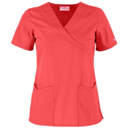 Butter-Soft Scrubs by UA™ Mock Wrap Crossover Scrub Top