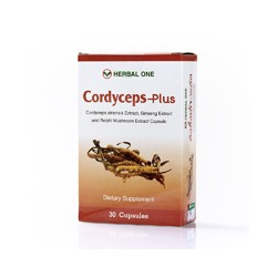 Капсулы Кордицепс Плюс Herbal one 30 шт/ Herbal One Cordycepse plus 30 pcs