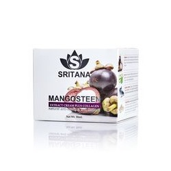 Крем для лица Sritana с мангостином и коллагеном 50 мл / Sritana mangosteen collagen cream 50 ml