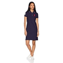 U.S. Polo Assn. Women's Basic Polo Dress
