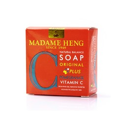 Мыло Madame Heng Витамин С + Гранат 50 гр / Madame Heng Original Vitamin C + Pomegranate 50 g