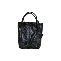 PELLE SHOPPER SERPIENTE/2 NEGRO