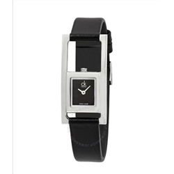 CALVIN KLEIN 5 star rating Unexpected Black Dial Ladies Watch K4H431C1
