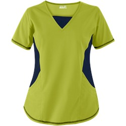 Butter-Soft Scrubs by UA™ New & Improved V-Neck Top with Stretch Panels