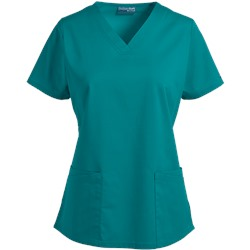 UA Butter-Soft STRETCH Scrubs Square V-Neck 4-Pocket Top
