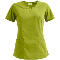 Butter-Soft Scrubs by UA™ Criss Cross V-Neck Top