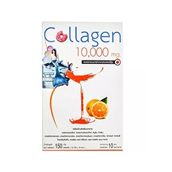 Питьевой коллаген Collagen Plus от Donutt 10 пакетиков / Donutt Collagen Plus Orange flavour 10 sachets