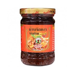 Острая чили-паста с креветками от Pantai Norasingh 227 гр / Pantai Norasingh Extra Hot Chili Paste with Soya Bean Oil 227g