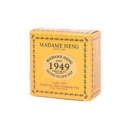 Натуральное лечебное спа-мыло Natural Balance с куркумой и мёдом для тела и лица Gold Luxury от Madame Heng 250 гр / Madame Heng Natural Balance Care Spa Rebright Face&Body soap 150g